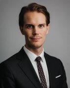 Kristoffer Nordström, portrait of CFO